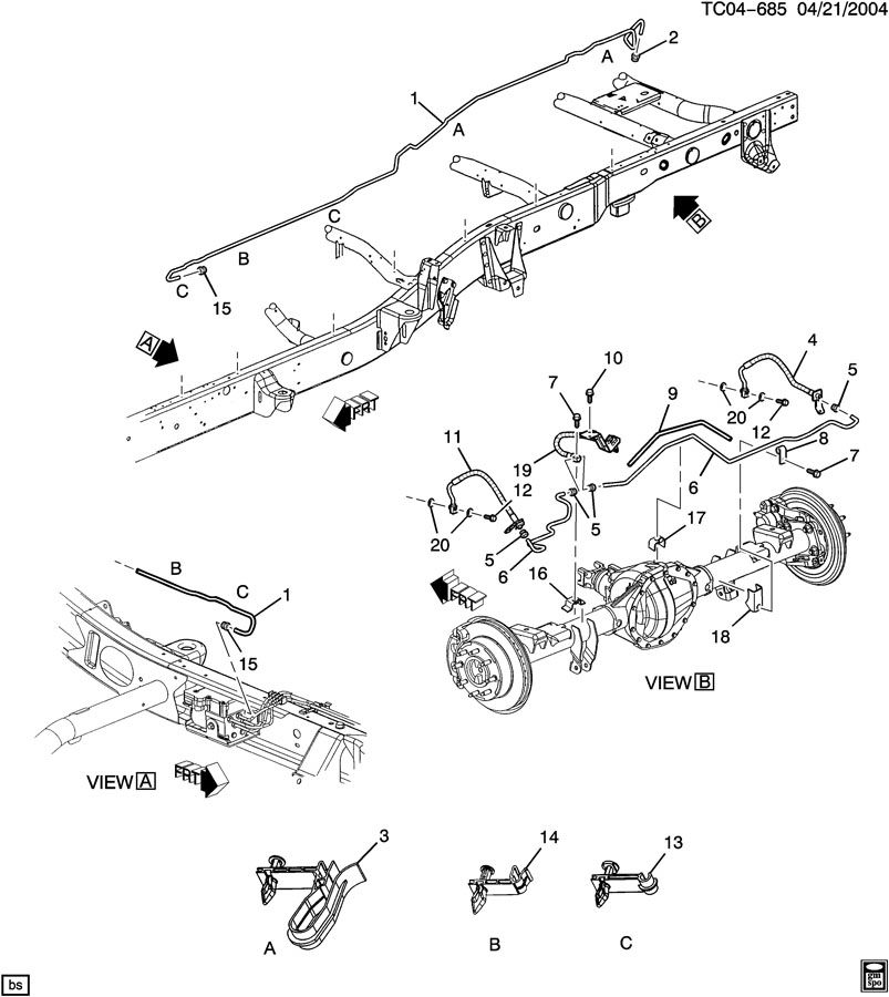 2004 Chevy Silverado Abs Wiring Diagram / Diagram 2012