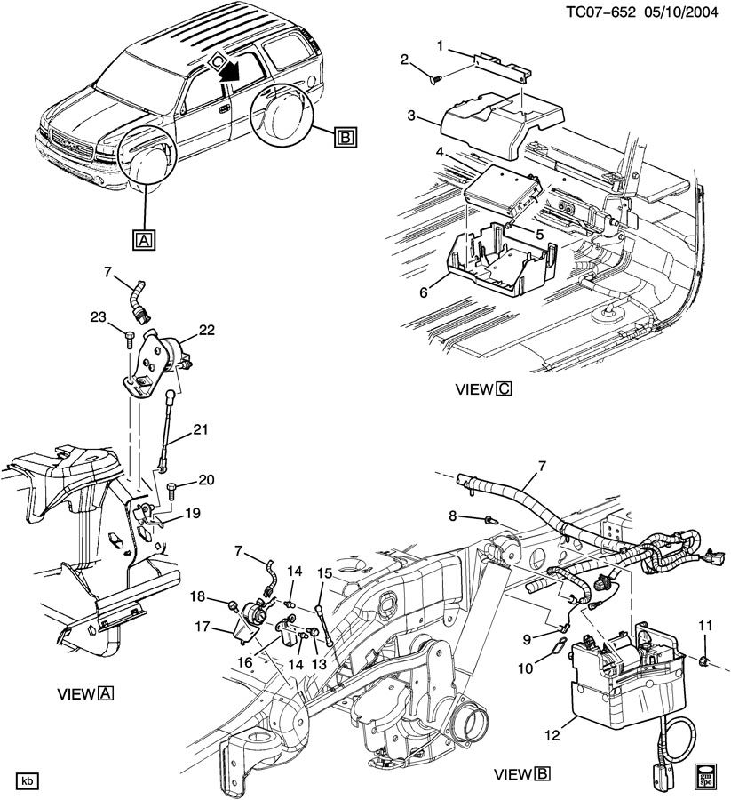 Service manual [1999 Cadillac Escalade Blower Motor