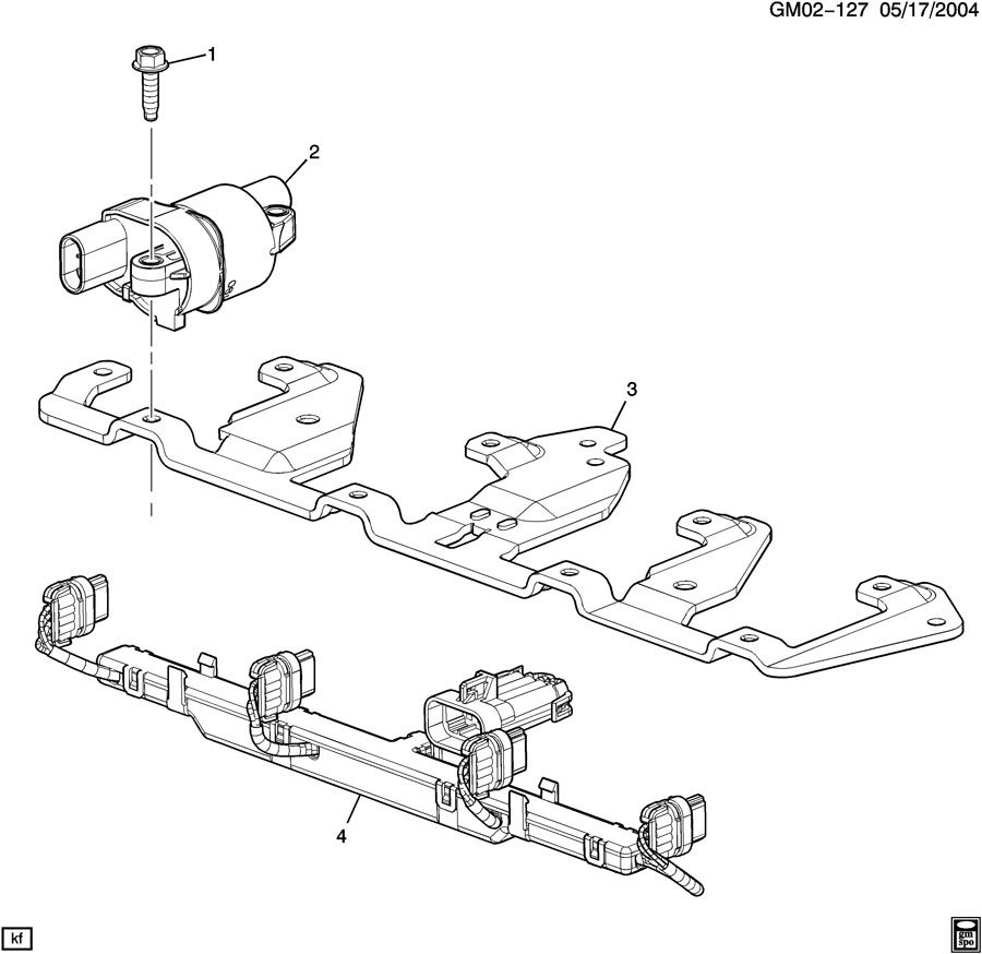 medium resolution of chevrolet colorado ext cab coil module ignition coil asm ignition