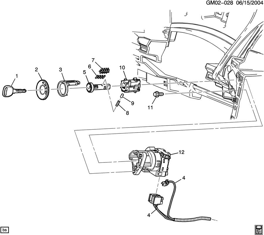 2006 Pontiac G6 Ignition Switch Diagram Html