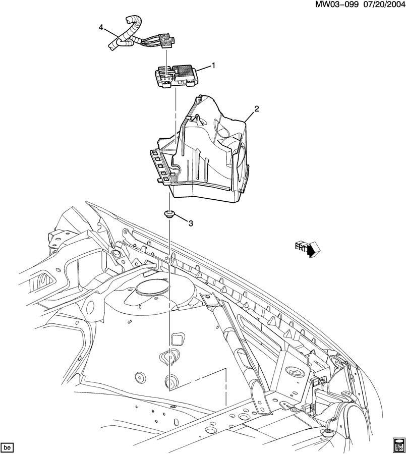 2006 Buick LaCrosse P.C.M. MODULE & WIRING HARNESS