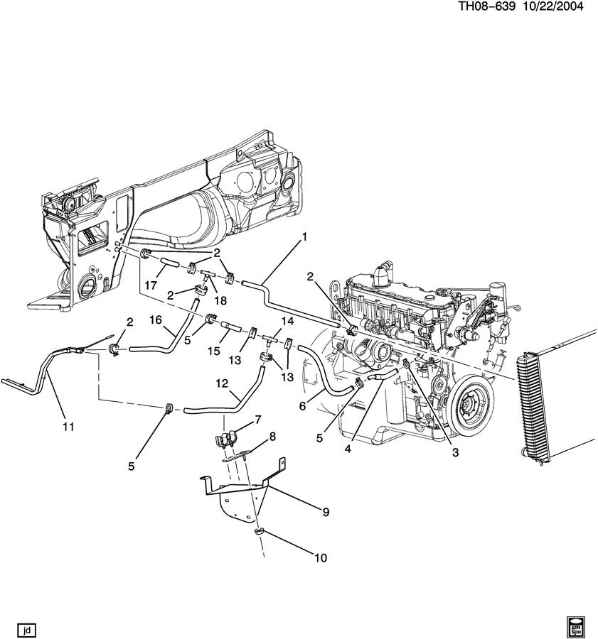 2001 Cat 3126 Engine Diagram MaxxForce 13 Engine Diagram