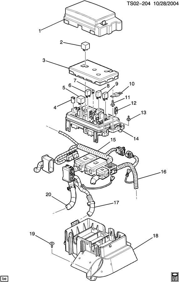 BLOCK/ACCESSORY WIRING JUNCTION