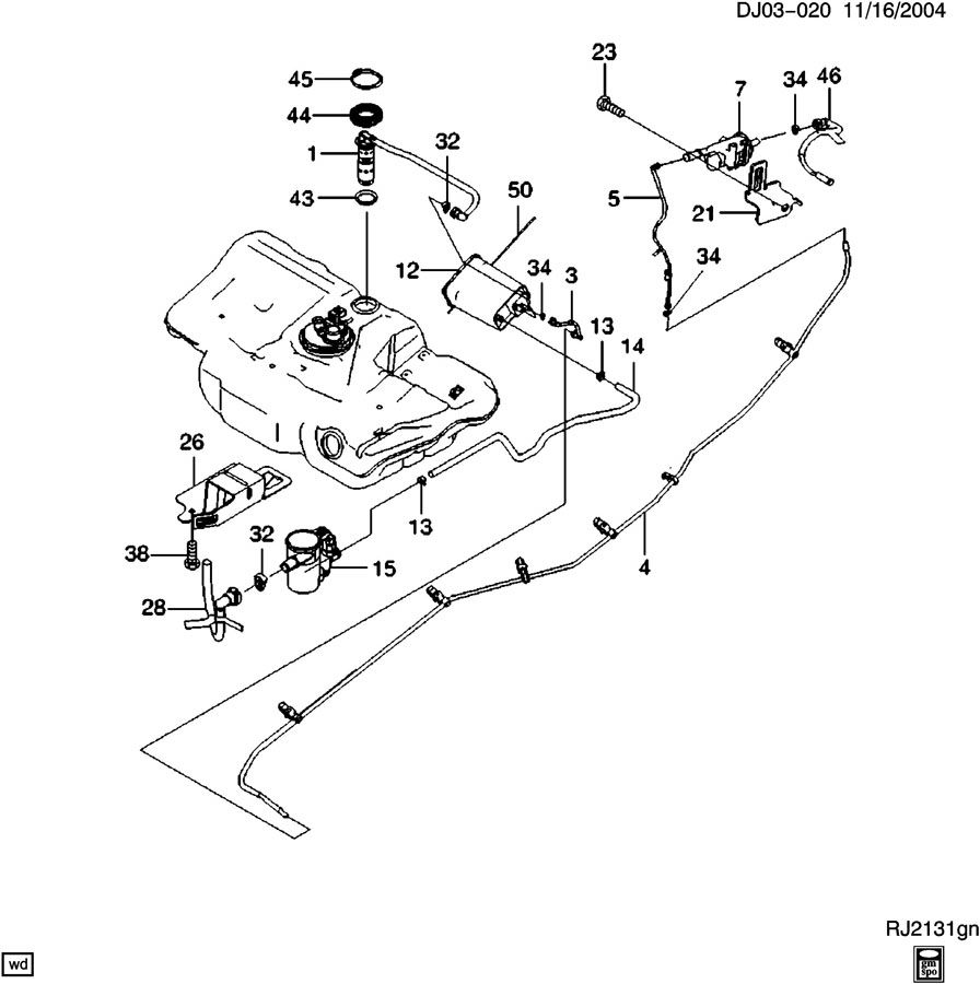 2005 Chevy Tahoe Knock Sensor Location Within Chevy Wiring