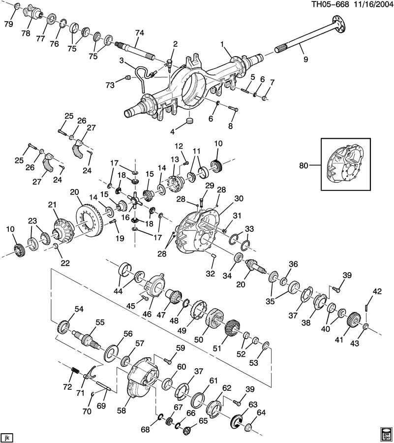 2002 Mercury Mountaineer Rear Axle Diagram