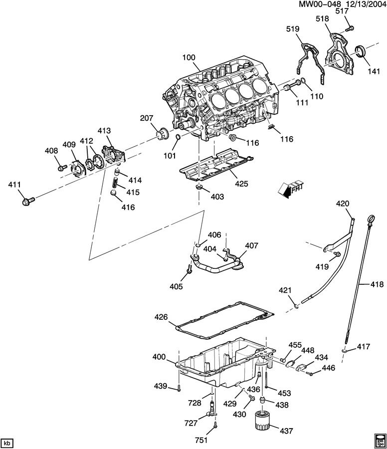 Gm 4 3l Oil Pan Diagram, Gm, Free Engine Image For User