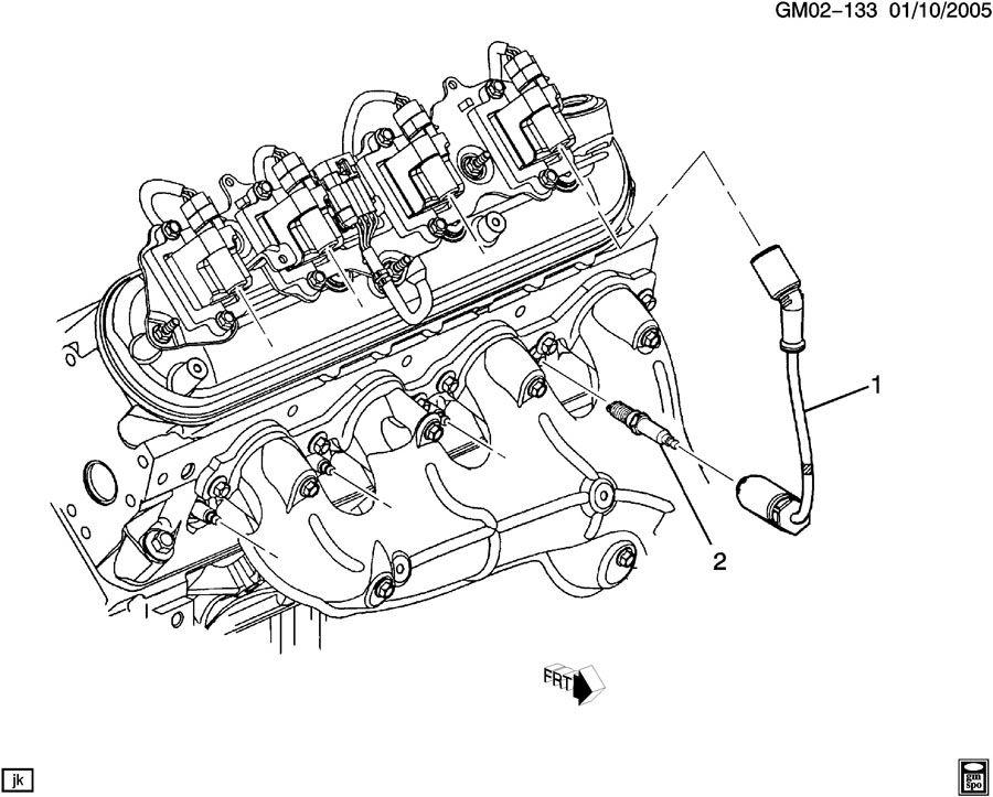Pontiac GTO SPARK PLUG WIRING