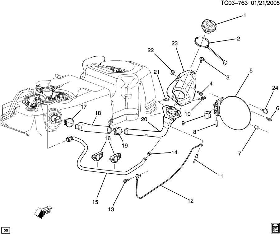 91 chevy fuel pump diagram