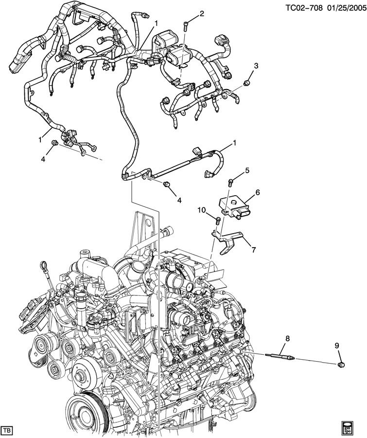 2005 Duramax Coolant Hose Diagram, 2005, Free Engine Image