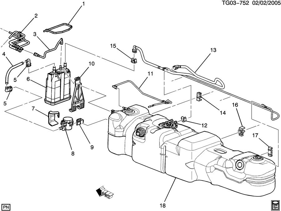 2006 Chevy Cobalt Fuel Tank Diagram, 2006, Free Engine
