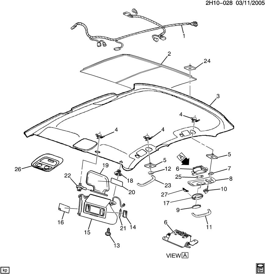 Service manual [2000 Oldsmobile Intrigue Console Removal