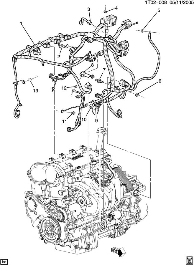 [DIAGRAM] Wiring Harness Diagram For Chevy Hhr FULL
