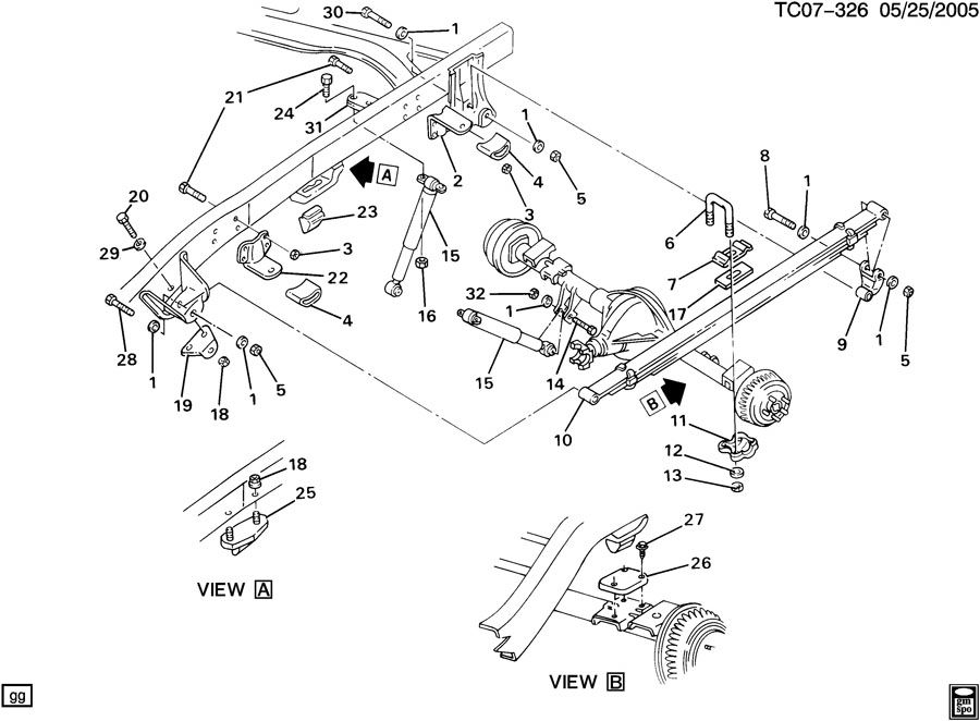 Chevy S10 Frame Diagrams Html