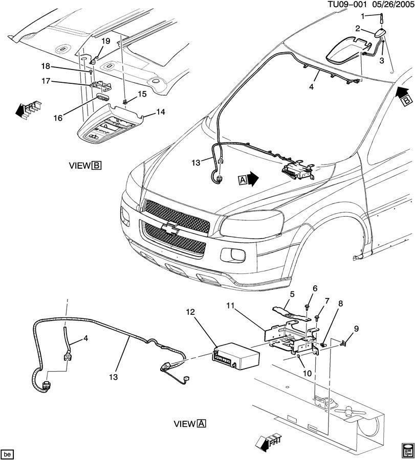 Pontiac MONTANA COMMUNICATION SYSTEM ONSTAR
