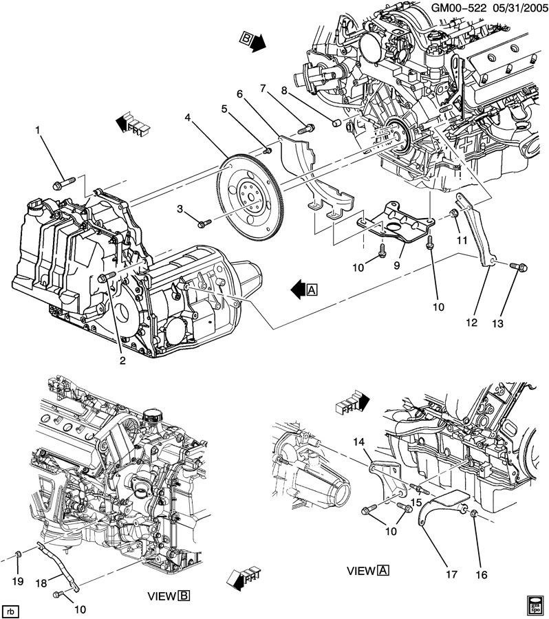 Service manual [2007 Cadillac Dts Engine To Transmission