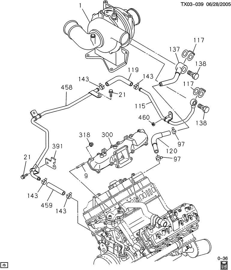 2006 duramax diesel engine diagram