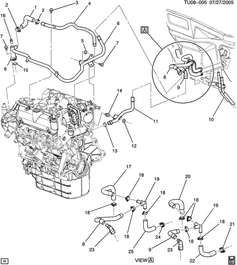 02 Vw Jetta Heater Hose Diagram, 02, Free Engine Image For