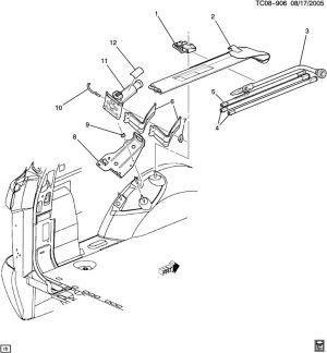 2004 Cadillac ext fuse box diagram