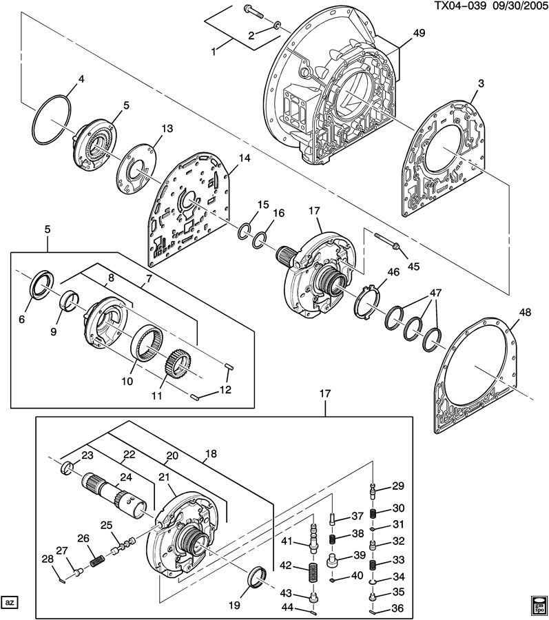 Allison Transmission 2000 Wiring Diagram