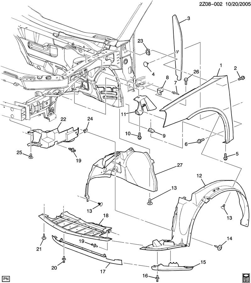 08 Pontiac G6 Parts Diagram. Pontiac. Auto Wiring Diagram