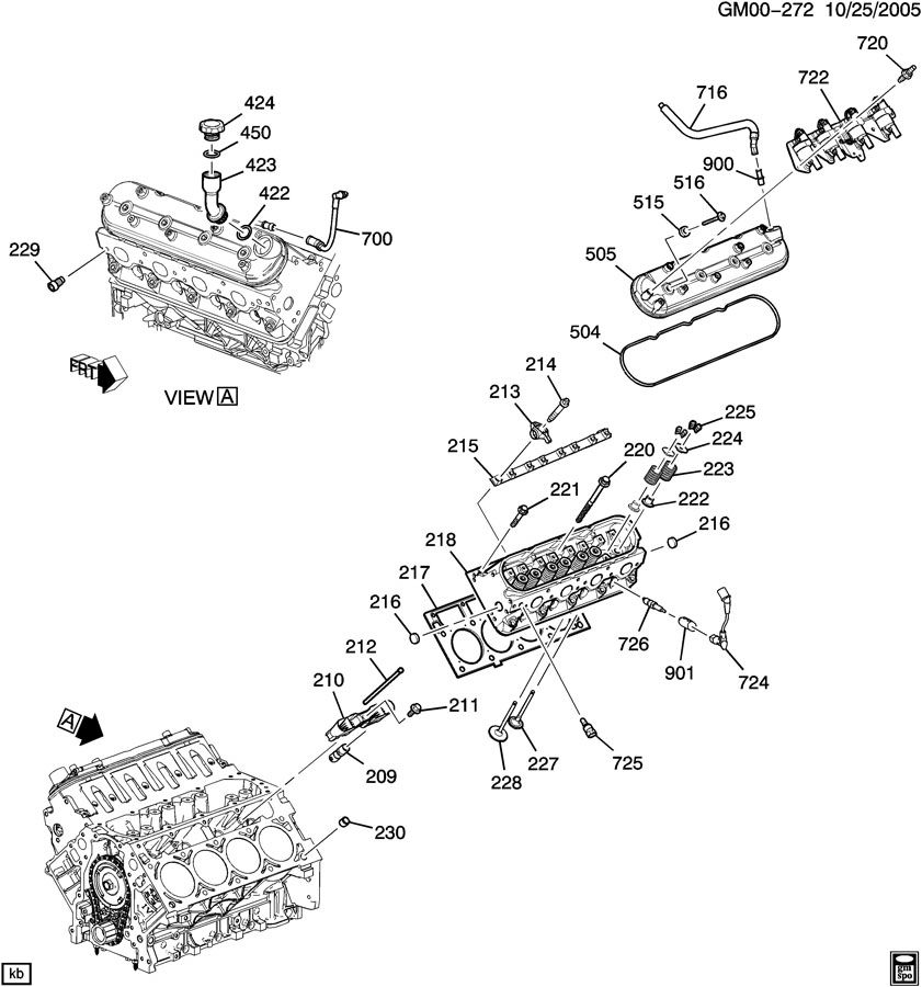 Gm Ly5 Engine, Gm, Free Engine Image For User Manual Download