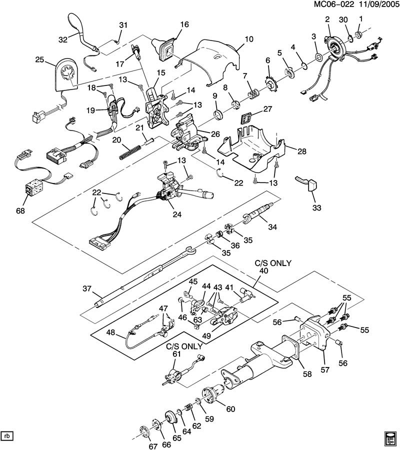Chevy Steering Parts Diagram, Chevy, Free Engine Image For