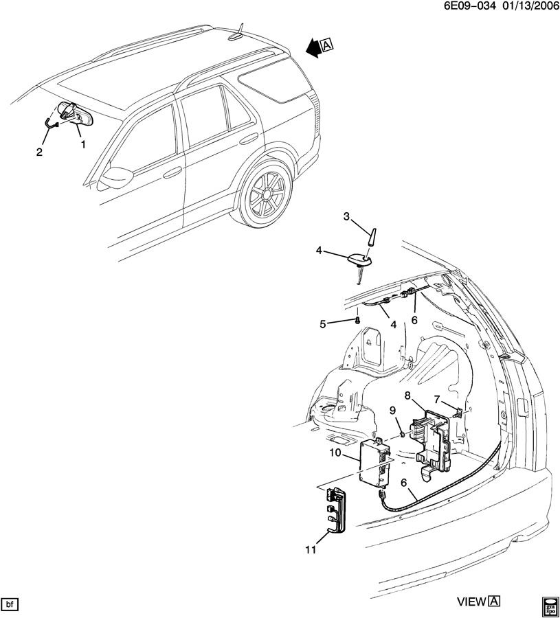 2003 cadillac cts fuse box diagram also munication system onstar