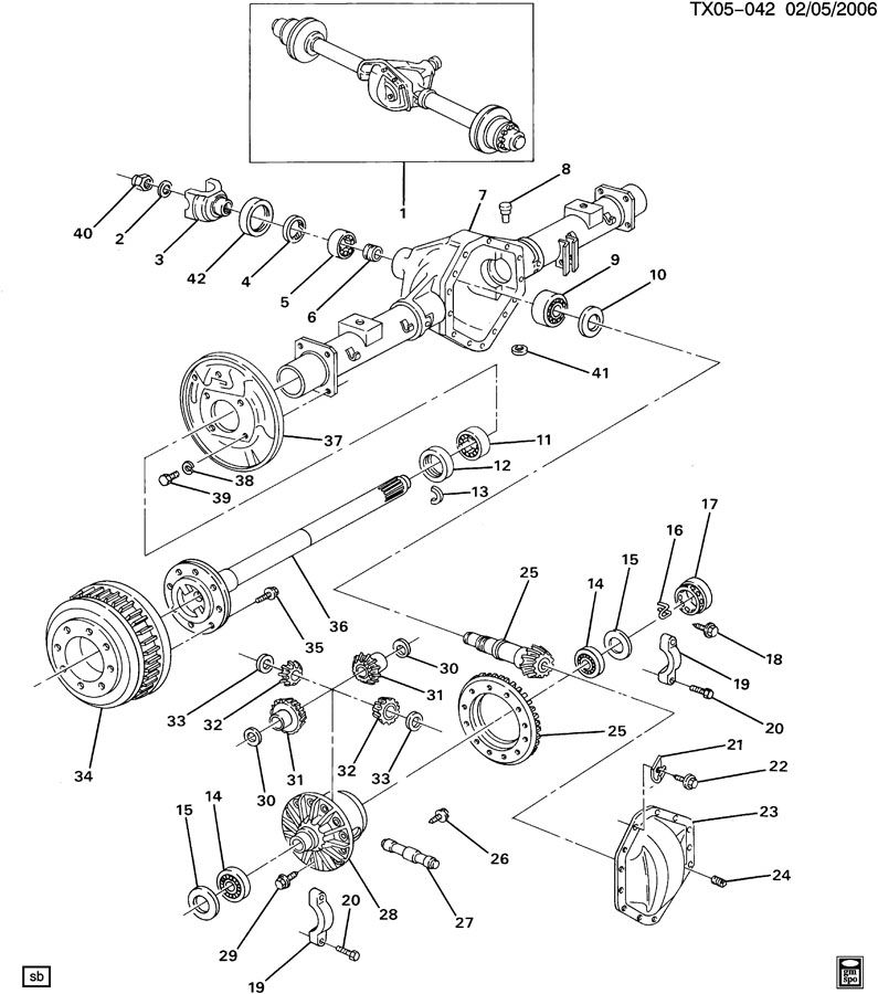 What Is The Factory Gear Ratio On A 1994 Gmc Sierra 2wd