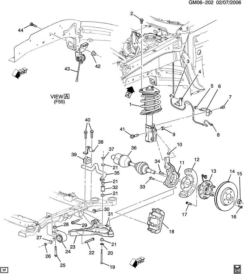 1964 Impala Front Suspension Diagram, 1964, Free Engine