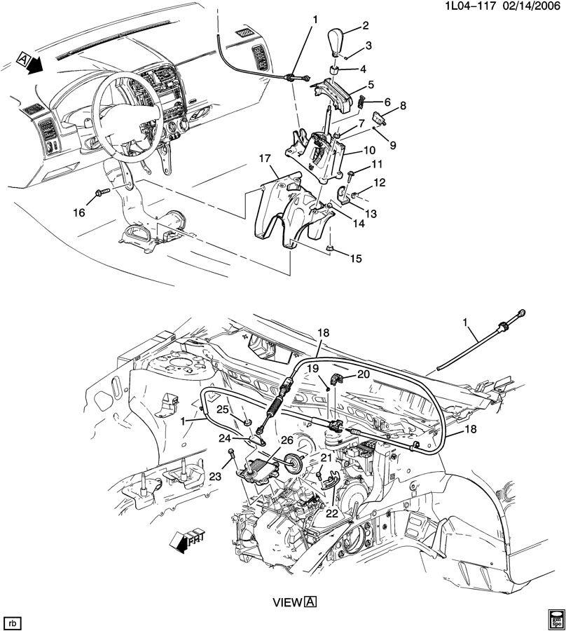 SHIFT CONTROL/AUTOMATIC TRANSMISSION