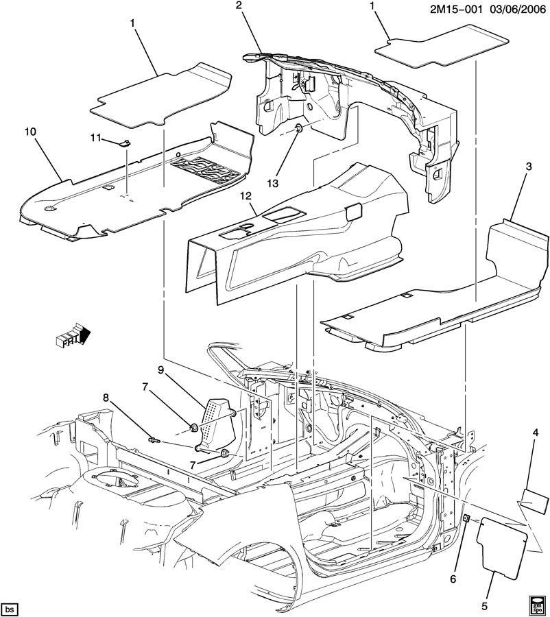 Pontiac Solstice CARPET/FLOOR