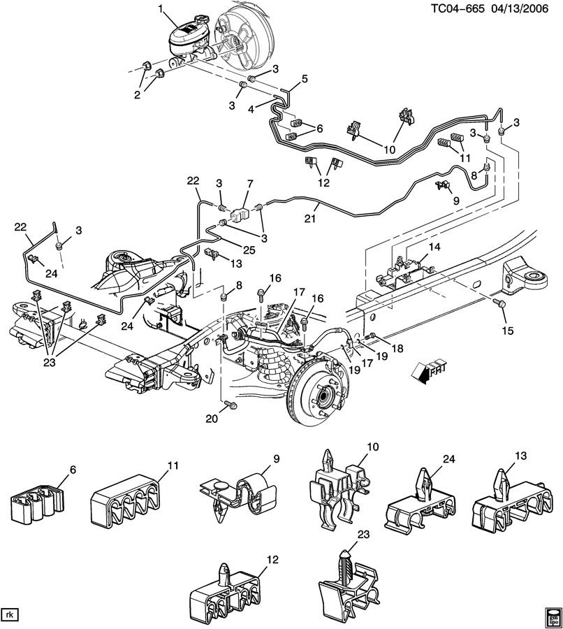 2004 Silverado Brake Line Diagram : Pursued : A True Story