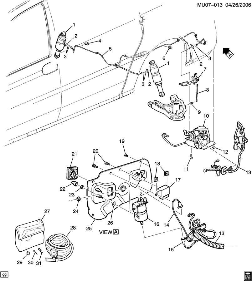 2002 chevy venture suspension diagram