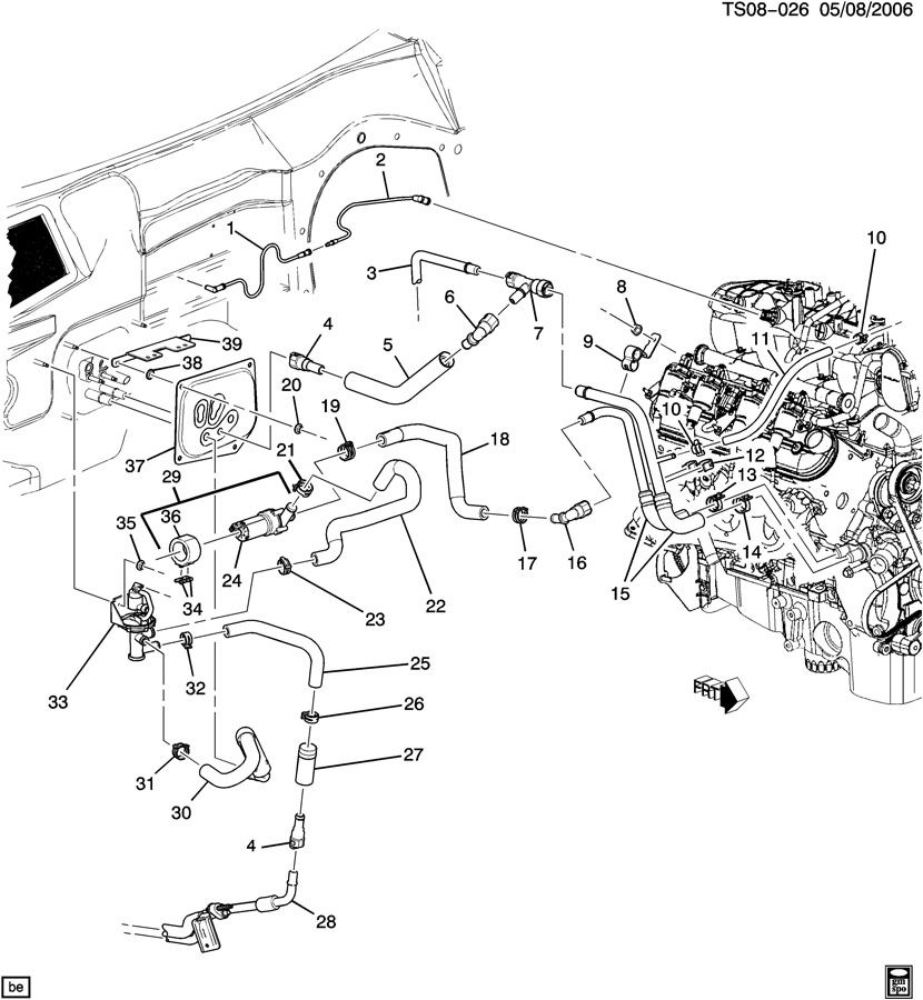 2000 Impala Heater Hose Diagram, 2000, Free Engine Image