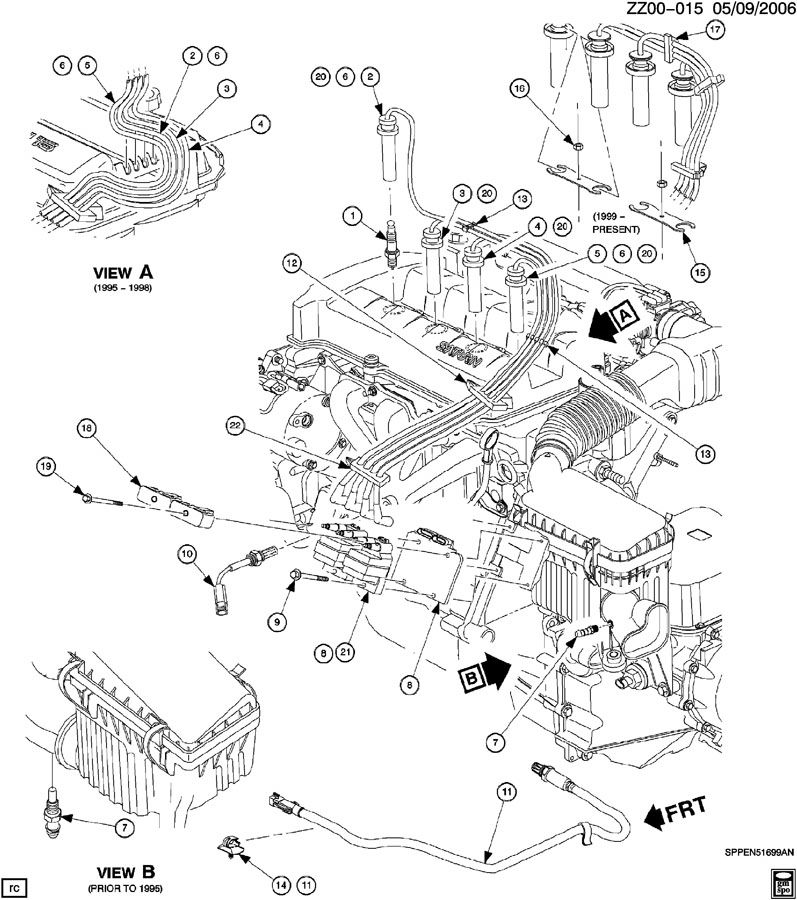 1997 Saturn Sl2 Engine Diagram Saturn SL1 Engine Diagram