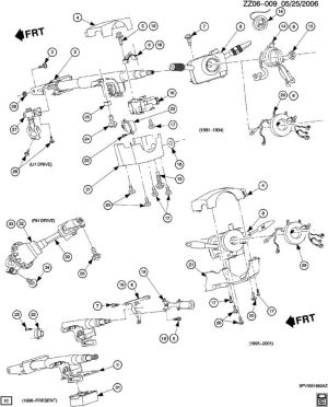 STEERING SYSTEM & RELATED PARTS