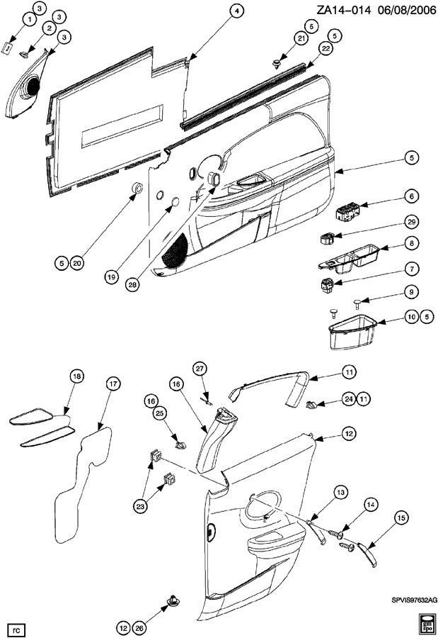 2006 Hhr Steering Shaft, 2006, Free Engine Image For User