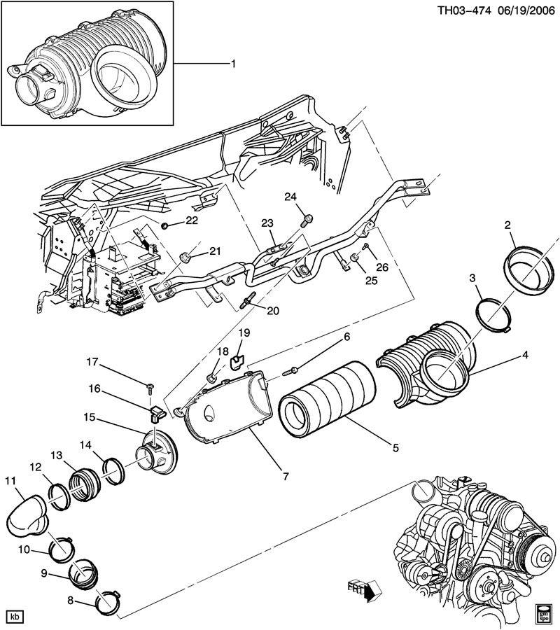 2005 Duramax Fuel Filter Diagram