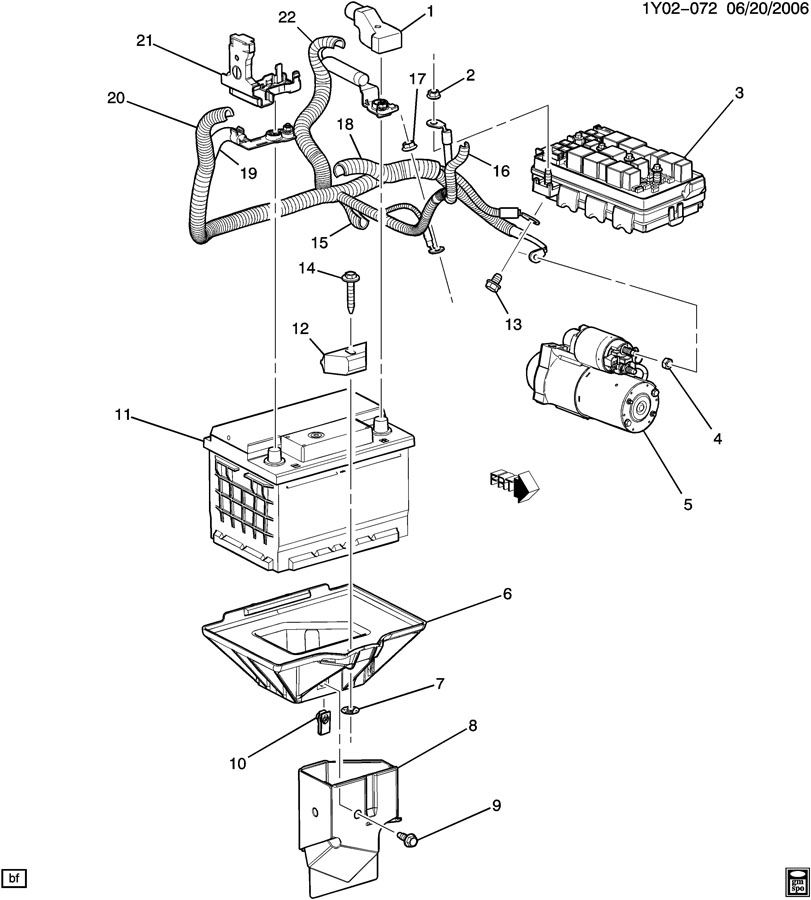 BATTERY CABLES & RELATED PARTS