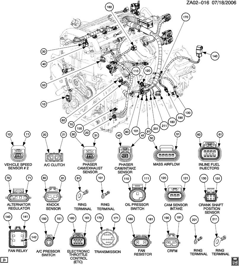 2001 Impala Wiring Harness 2001 Impala Parts Diagram