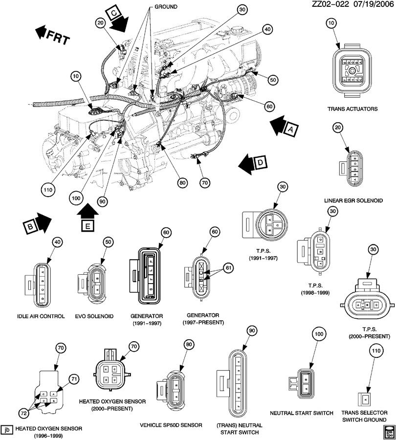 Need Wireing harness diagram from back of motor