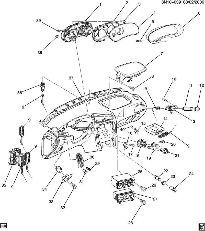 INSTRUMENT PANEL PART 2 ELECTRICAL