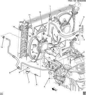 Gmc acadia transmission cooler