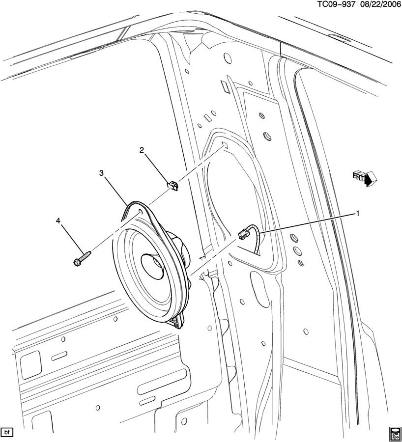 AUDIO SYSTEM/REAR
