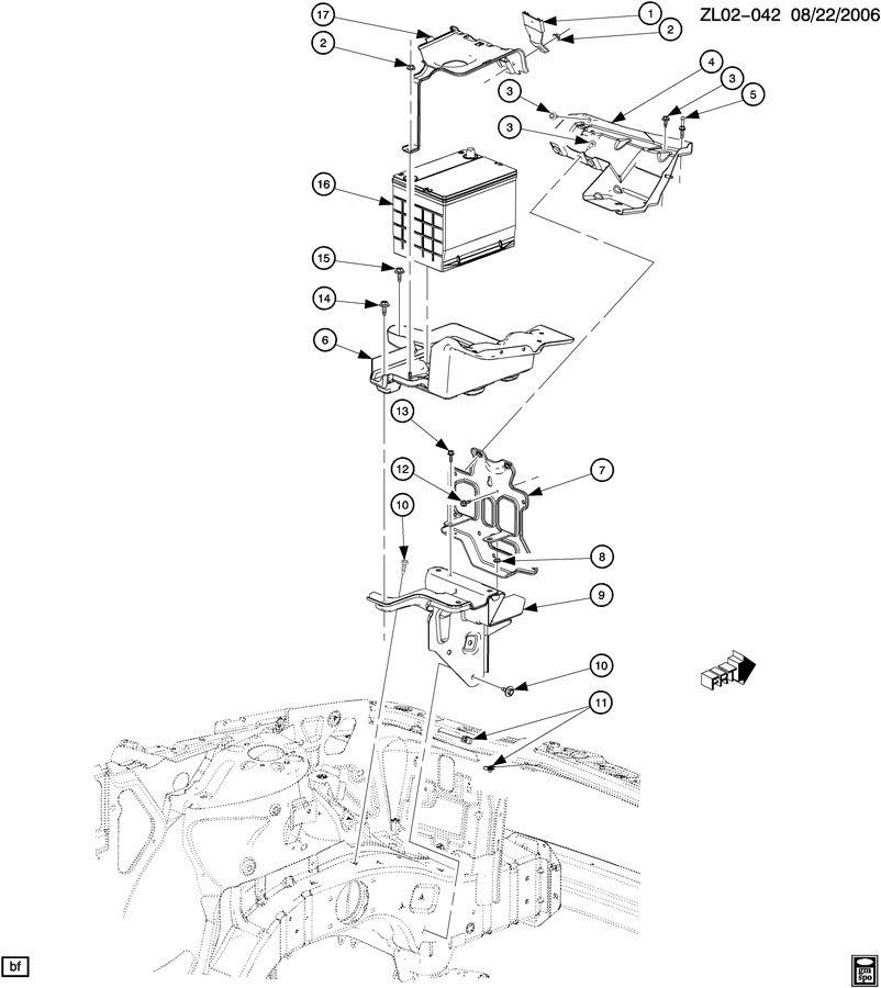 BATTERY MOUNTING-12V
