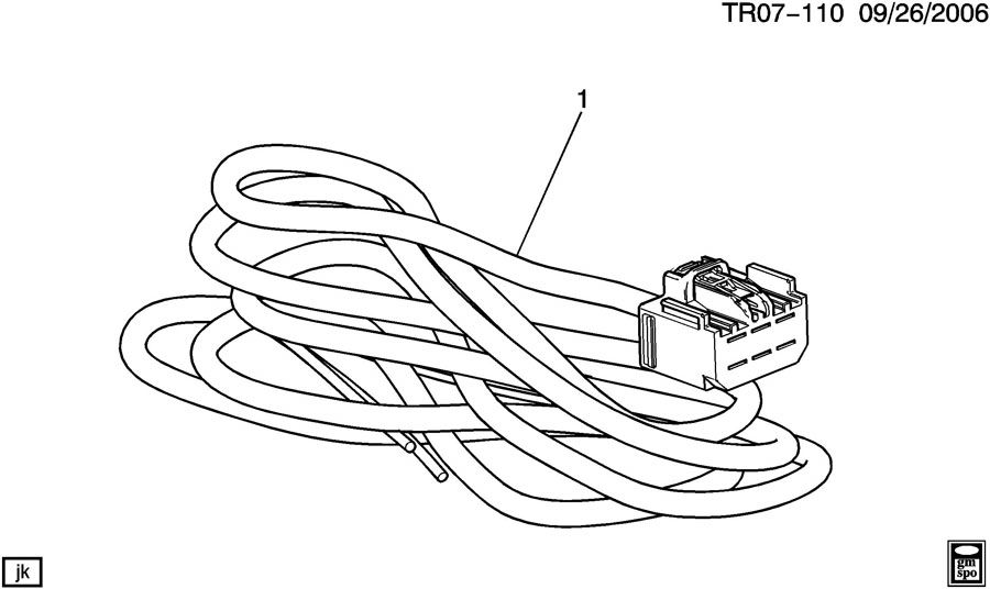WIRING HARNESS/TRAILER EXTENSION