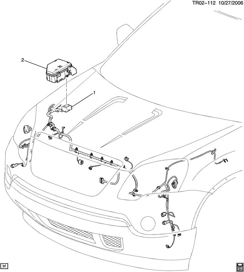 WIRING HARNESS/FRONT LAMPS