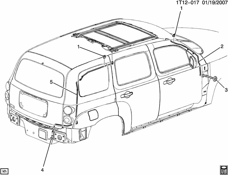 Diagram For Chevy Hhr Electrica, Diagram, Free Engine