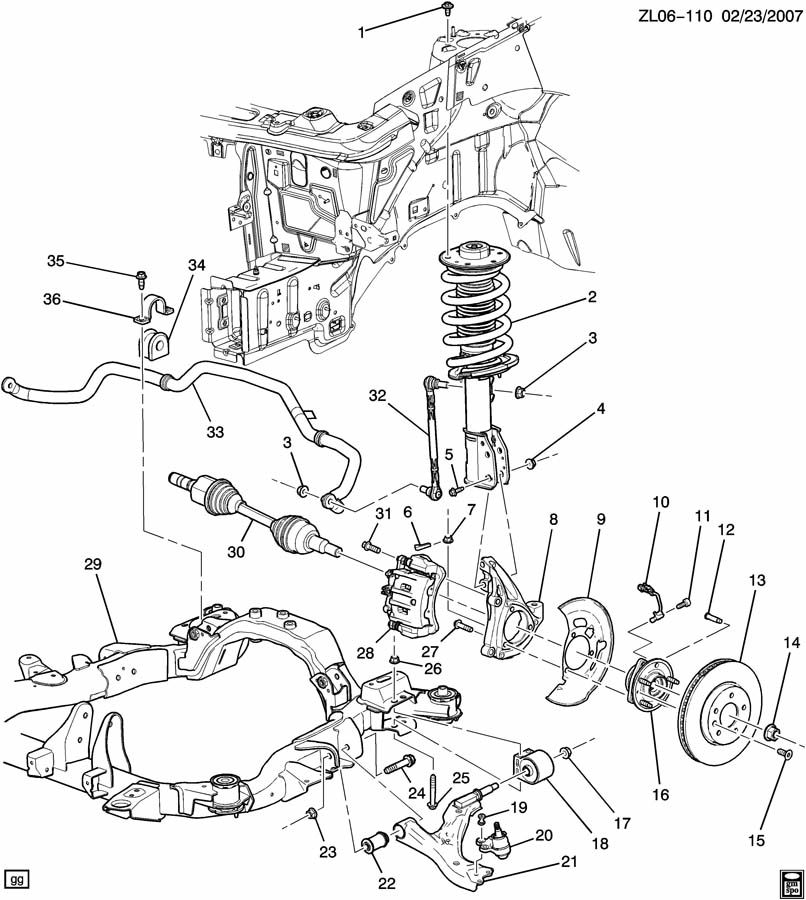 [DIAGRAM] Chevy Aveo Suspension Diagram FULL Version HD