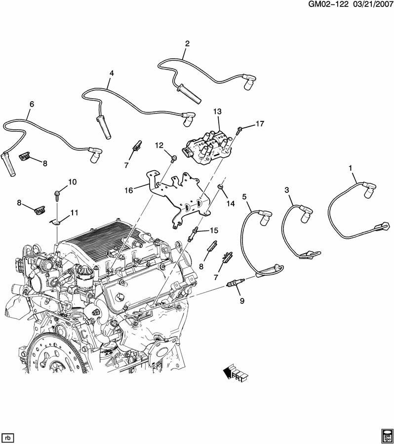 Chevrolet Equinox SPARK PLUG WIRING